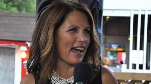 michele bachmann quo. Michele Bachmann grabs the