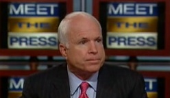 McCain on Meet The Press