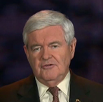 Gingrich Newt Purple